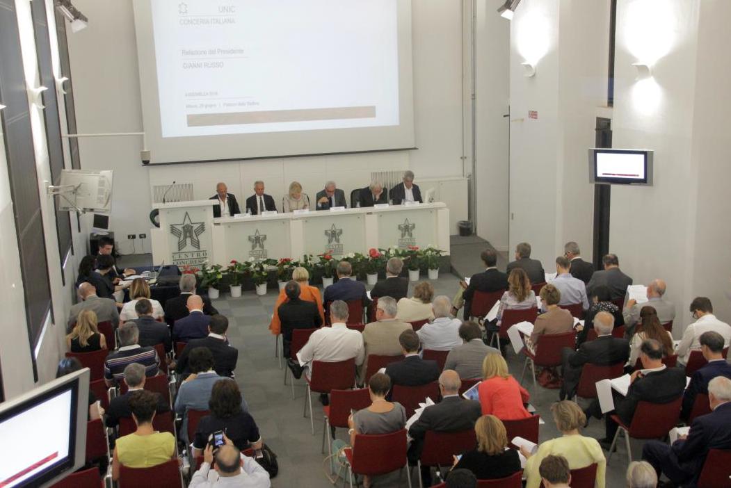 Assemblea UNIC 2016 Milano