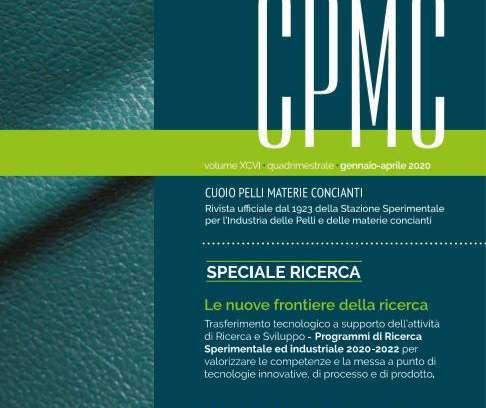 Pubblicato il numero 1/2020 della rivista CPMC