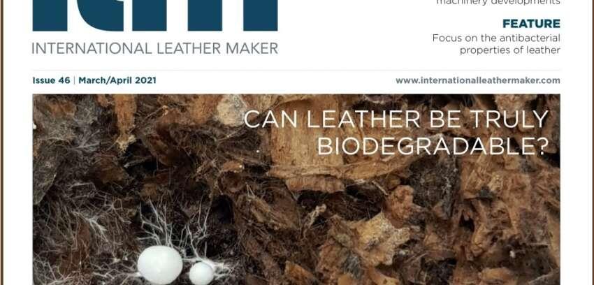 """Focus sulle proprietà antibatteriche del cuoio su """"International Leather Maker"""""""