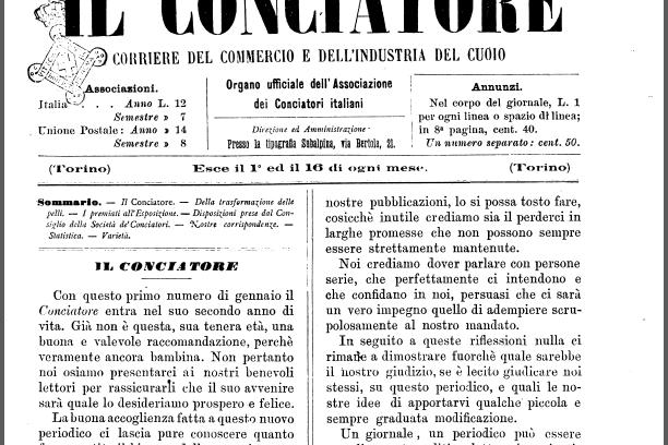 La guanteria e la scuola tecnica per la concia delle pelli a Napoli – 1885