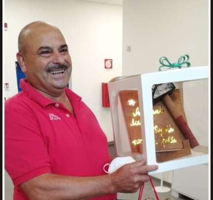 Il pensionamento di Franco Mongiello